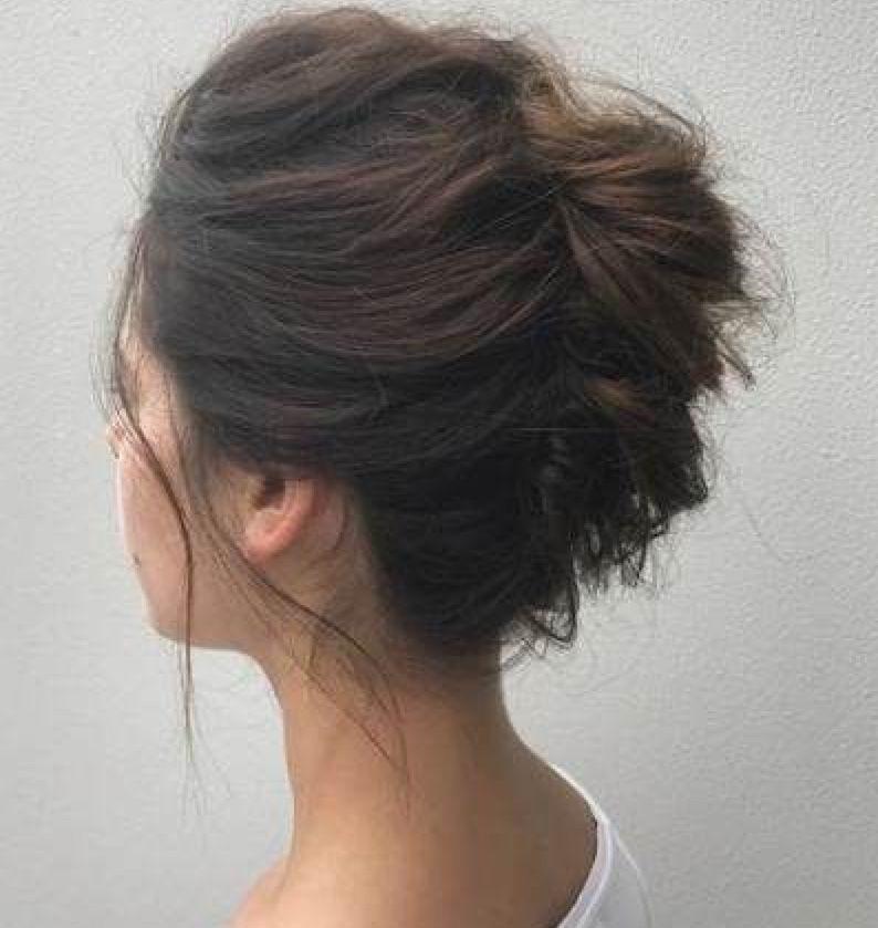 French Twist Short Hair Twist Styles Haircut For Thick Hair Hair Styles