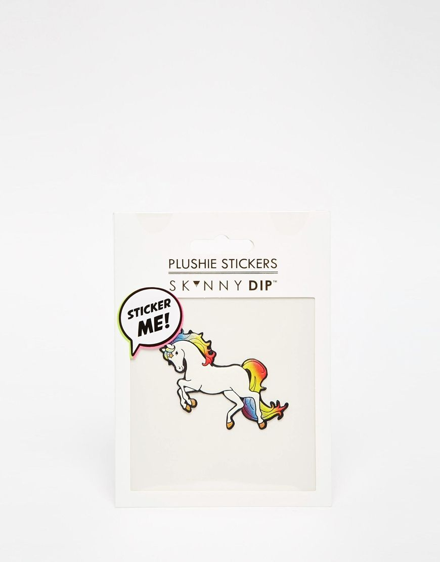 Skinnydip Rainbow Unicorn Sticker