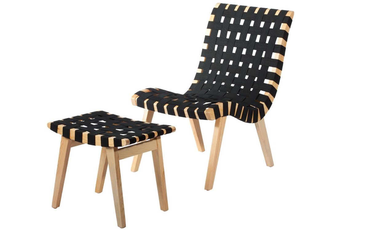 Mod Made Woven Lounge Chair Amp Ottoman In 2020 Chair