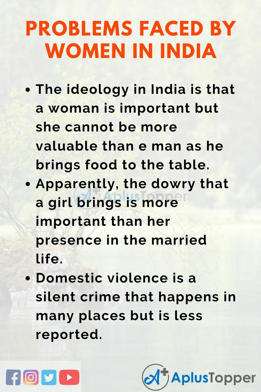 Issue And Problem Faced By Women In India Essay Essayonissuesandproblemsfacedbywomeninindia Issuesandproblem Of Improve Writing Skill Youth Violence Essays