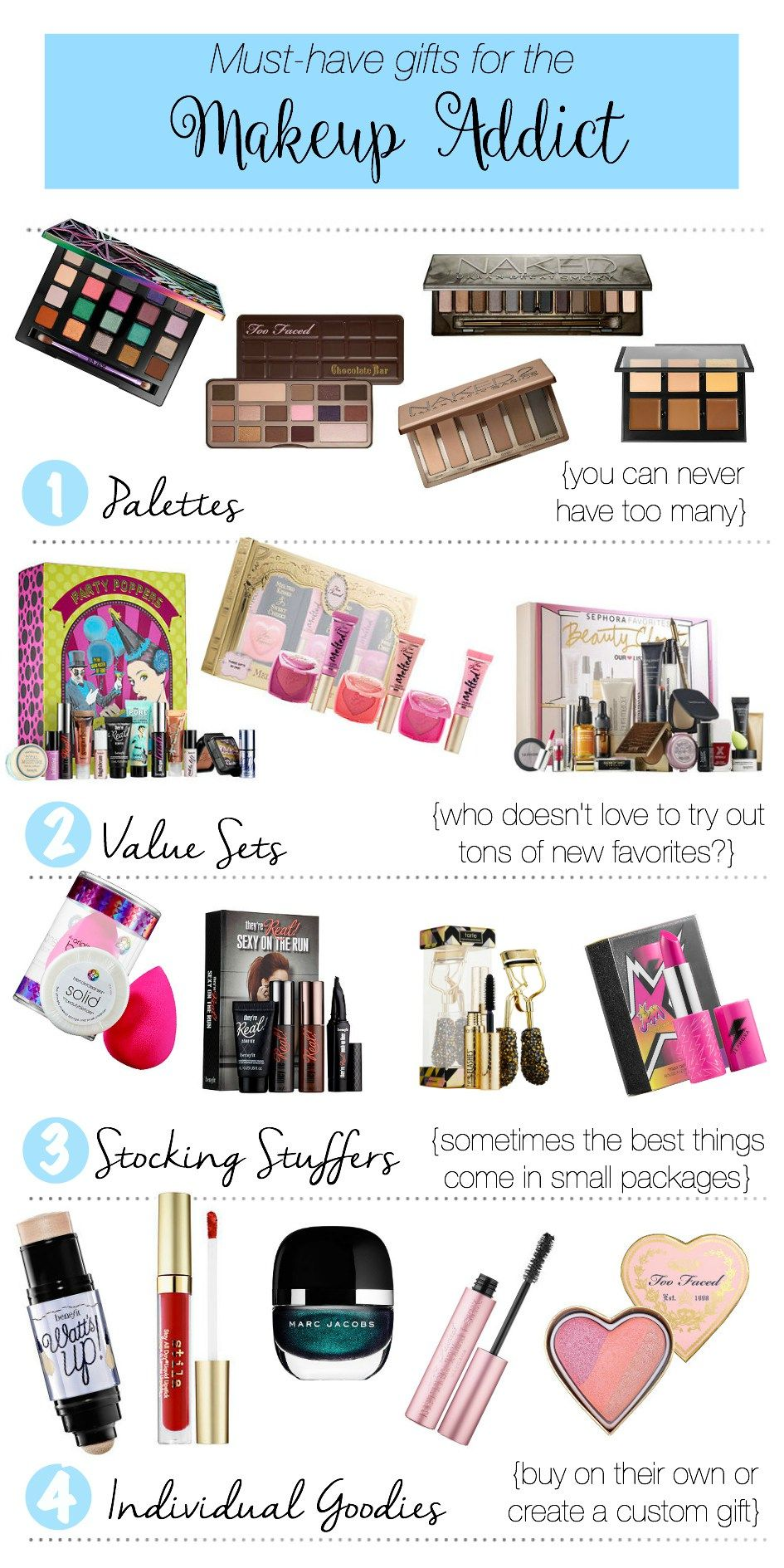 musthave gifts for the makeup addict Makeup artist kit