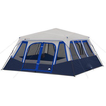 Ozark Trail 14 Person 2 Room Instant Cabin Tent Family Tent Camping Cabin Tent Ozark Trail Tent