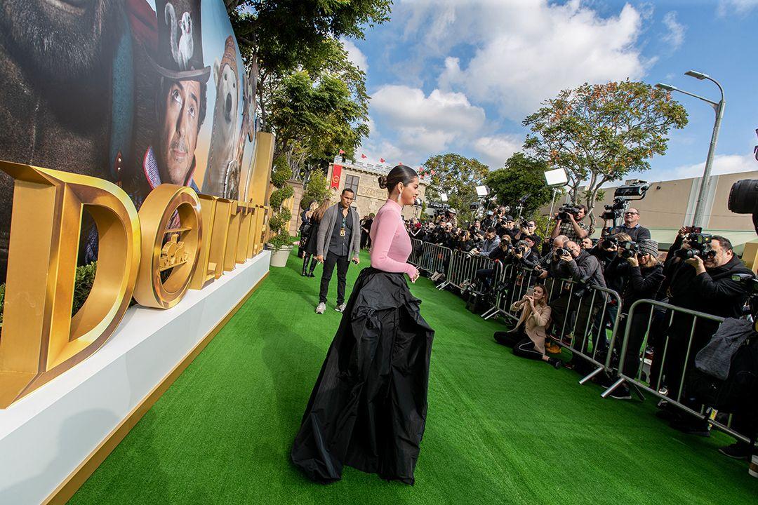 Selena Gomez rocked the Dolittle movie premiere held in ...
