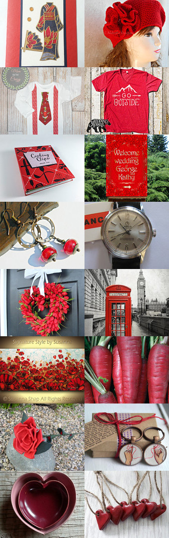 Red o' Red by Nancy on Etsy--Pinned+with+TreasuryPin.com