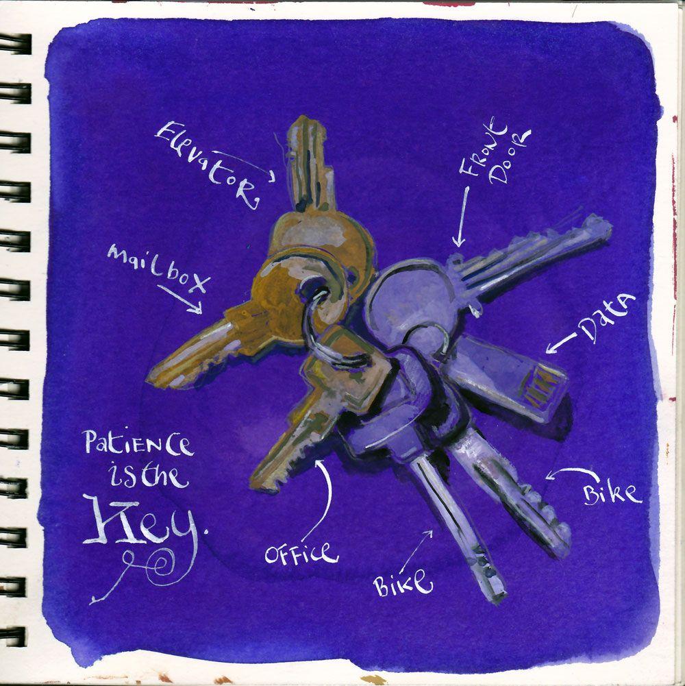 Edm 37 Draw Some Keys Dannygregory Artforall Drawing