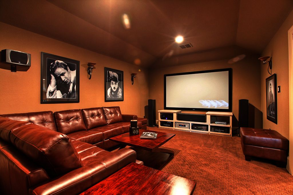Superior Simple Media Room Ideas Part - 9: 27 Awesome HomeWith Media Room Ideas U0026 Design(Amazing Pictures) Media Room  - This