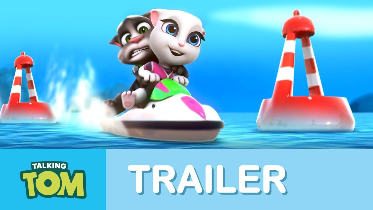 Talking Tom Jetski Trailer Talking Tom Game App Toms