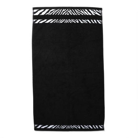 Black Animal Print Hand Towel Dunelm Mill