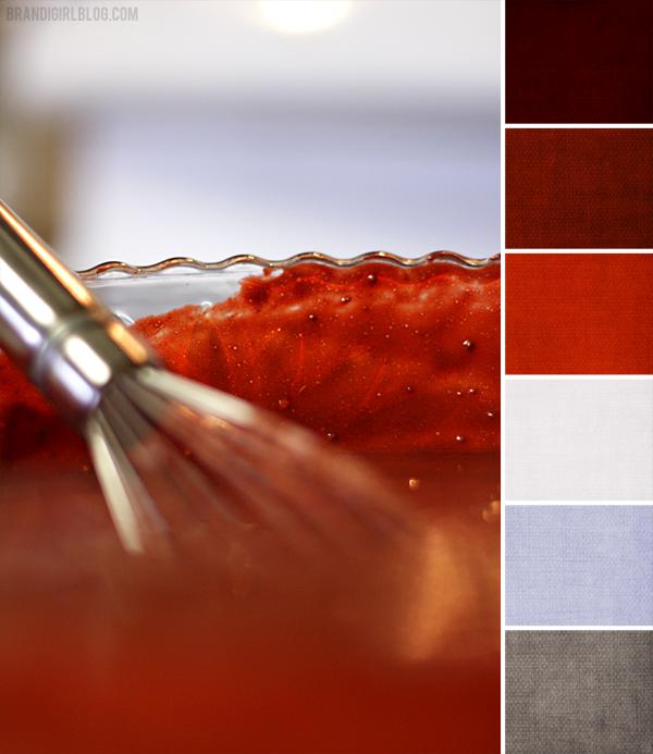 Color Palette 100 Red Velvet Combinations