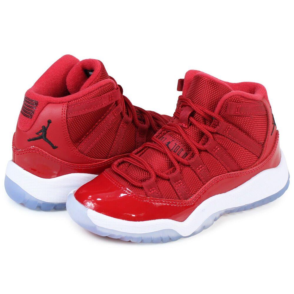 NIKE Air Jordan 11 BP WIN LIKE 96 Size