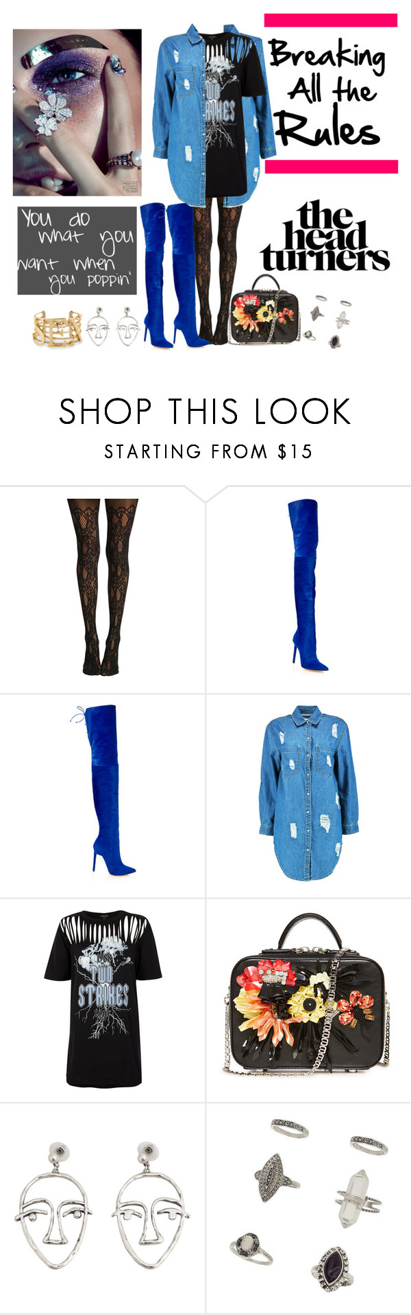 """""""It's Good To Be Different"""" by aharcaki ❤ liked on Polyvore featuring Oscar de la Renta, Boohoo, River Island, MANGO and Miss Selfridge"""