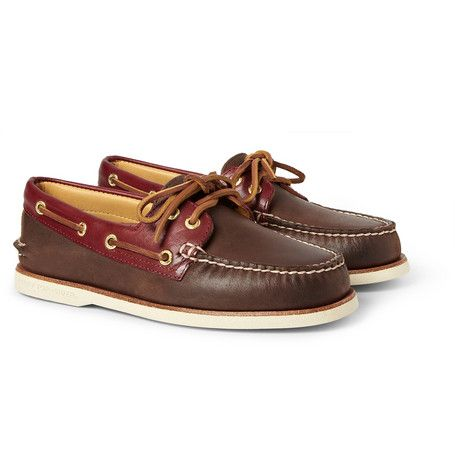 24dab1f5cad Sperry Top-Sider Gold Cup Leather Boat Shoes