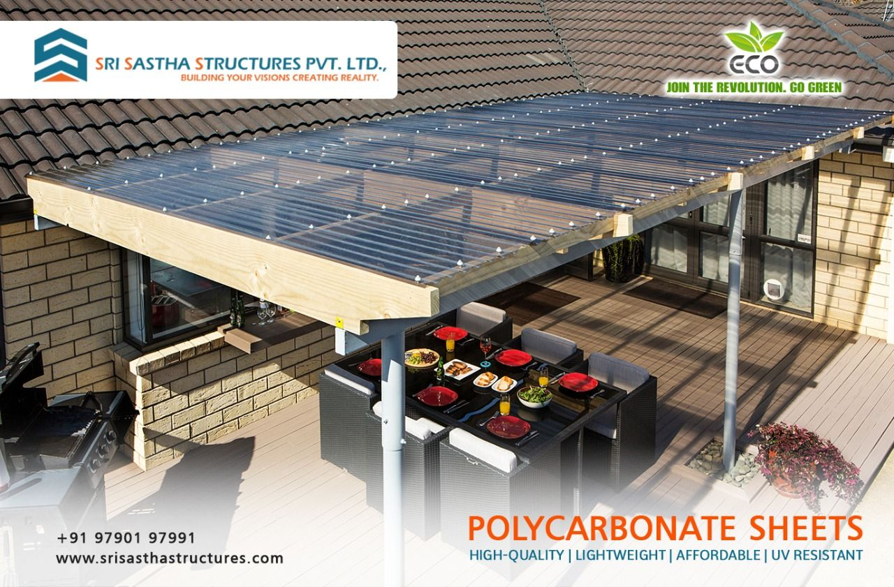 Poly Carbonate Sheets Cool Roof Roofing Structural Engineering