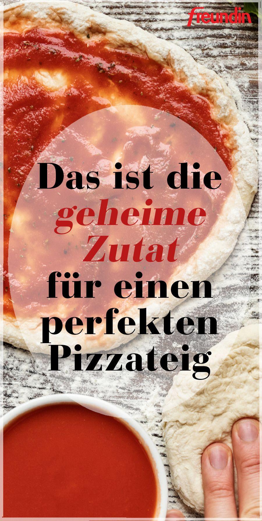 Das ist die geheime Zutat für einen perfekten Pizzateig | freundin.de