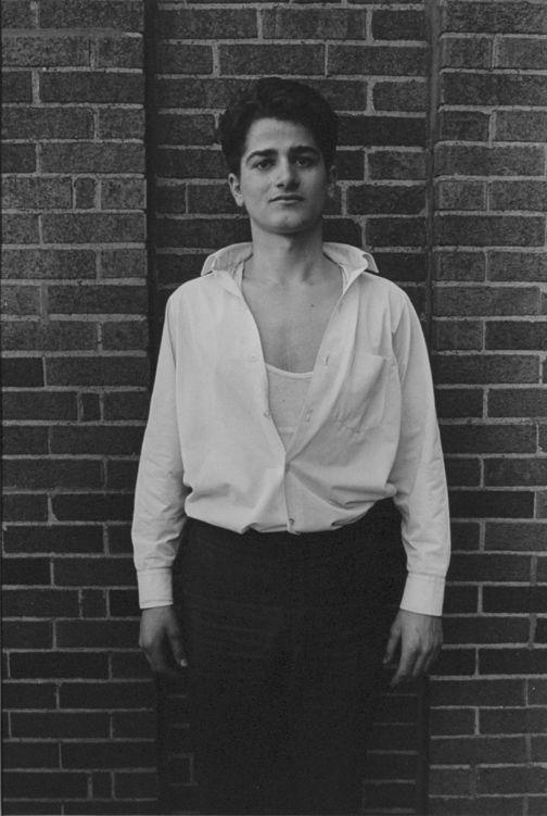 Danny Lyon, Young man, Hyde Park, Chicago, 1965