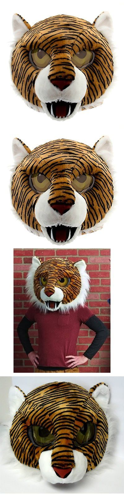 Maskimals Tiger Head Mask Large Halloween Costume | Halloween costumes Tigers and Masking : tiger head costume  - Germanpascual.Com