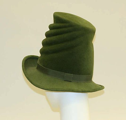 Jacques Le Corre Hat French The Metropolitan Museum Of Art Funky Hats Hot Hats Hats Vintage