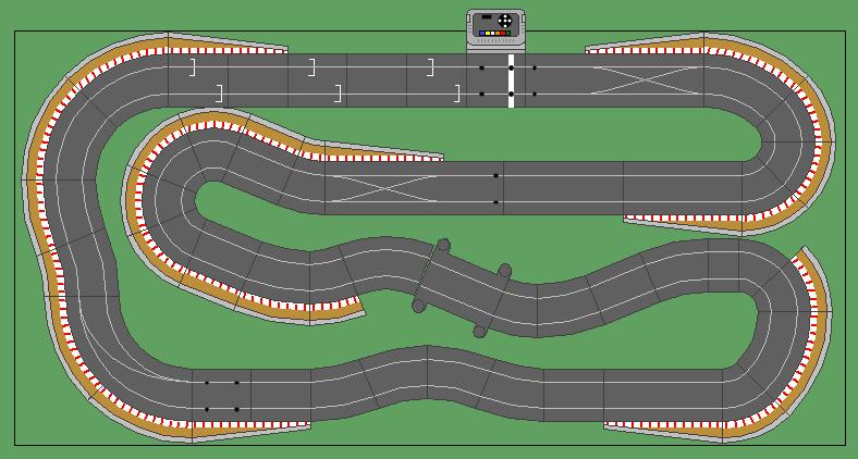 8 X4 Scalextric Layouts Track Plans Slotforum Scalextric Track Slot Car Race Track Slot Car Tracks