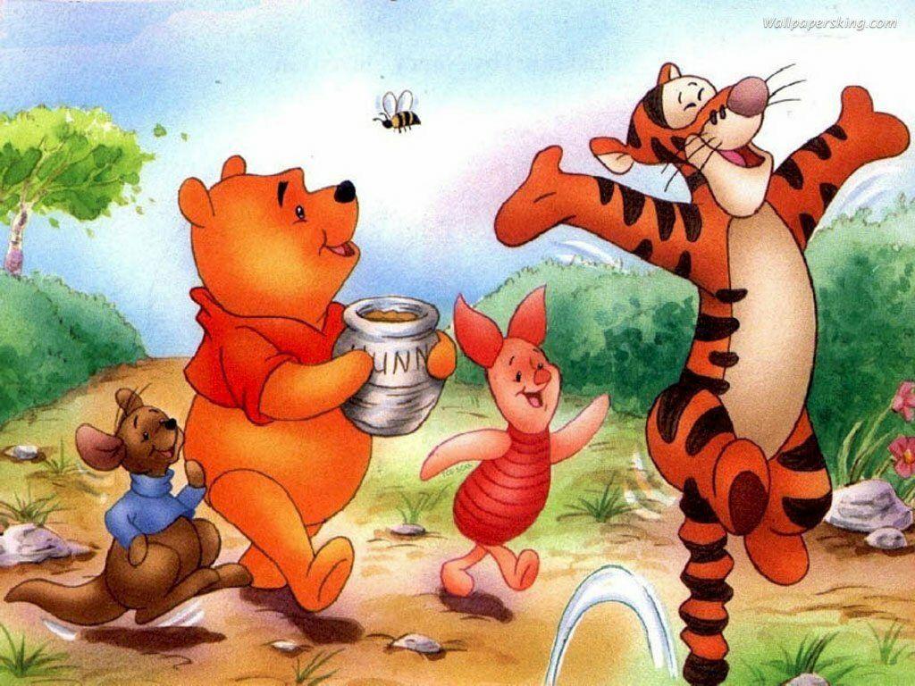 Winnie the pooh winnie the pooh pinterest arte - Habitacion winnie the pooh ...