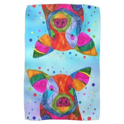 Pig Kitchen Towel   Kitchen Gifts Diy Ideas Decor Special Unique Individual  Customized