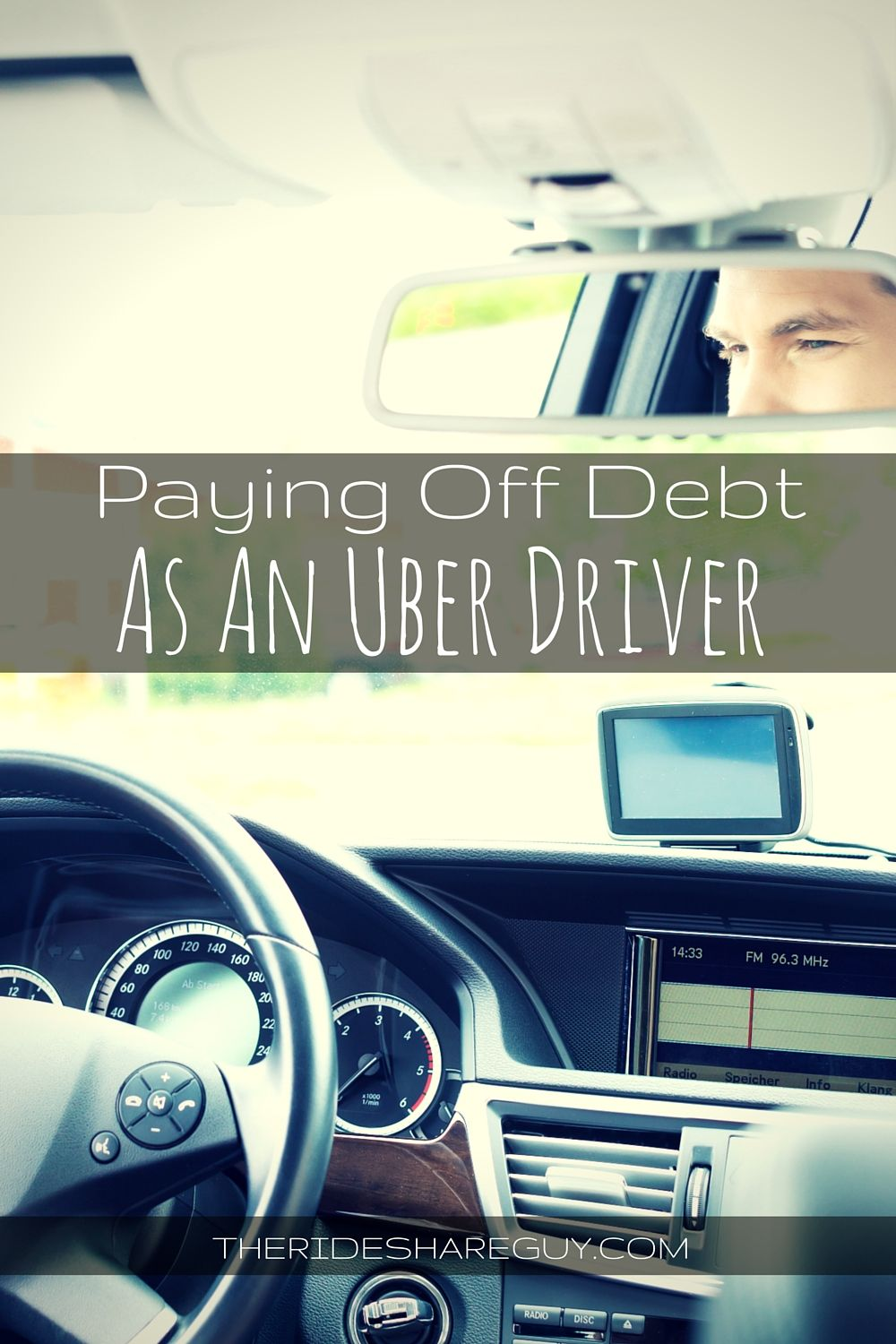 Paying Off Your Debt As An Uber Driver Rideshare driver