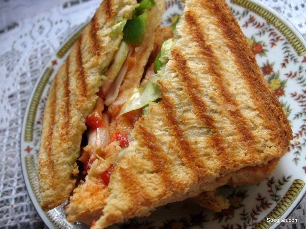 Grilled Daily Sandwich Sanjeev Kapoor Khana Khazana Watch Celebrity Chef Sanjeev Kapoor Share The