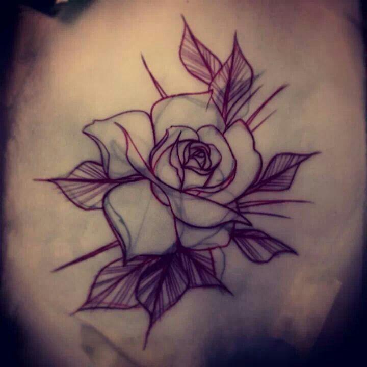 Rose Sketch Rose Sketch Rose Tattoo Design Flower Tattoo Designs