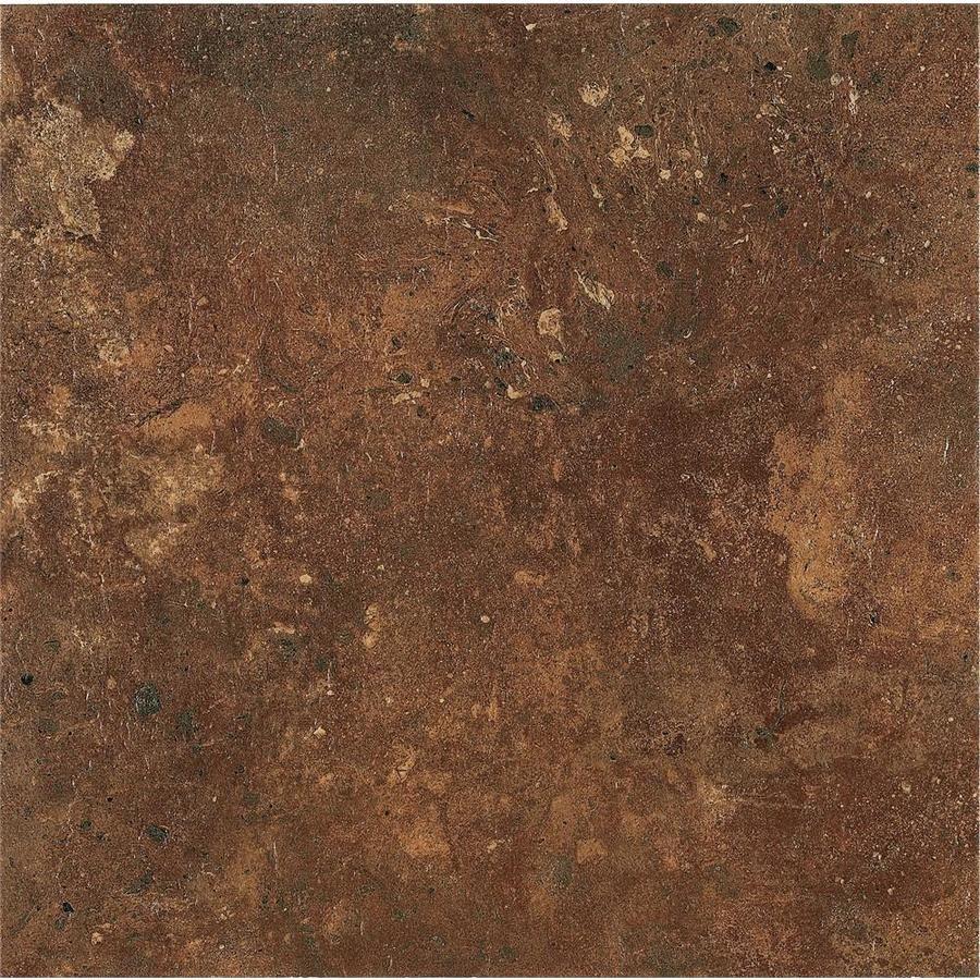 Armstrong Flooring Alterna 14 Piece 16 In X 16 In Groutable Aztec Terracotta Glue Adhesive Vinyl Tile Lowes Com In 2020 Vinyl Tile Armstrong Flooring Adhesive Vinyl