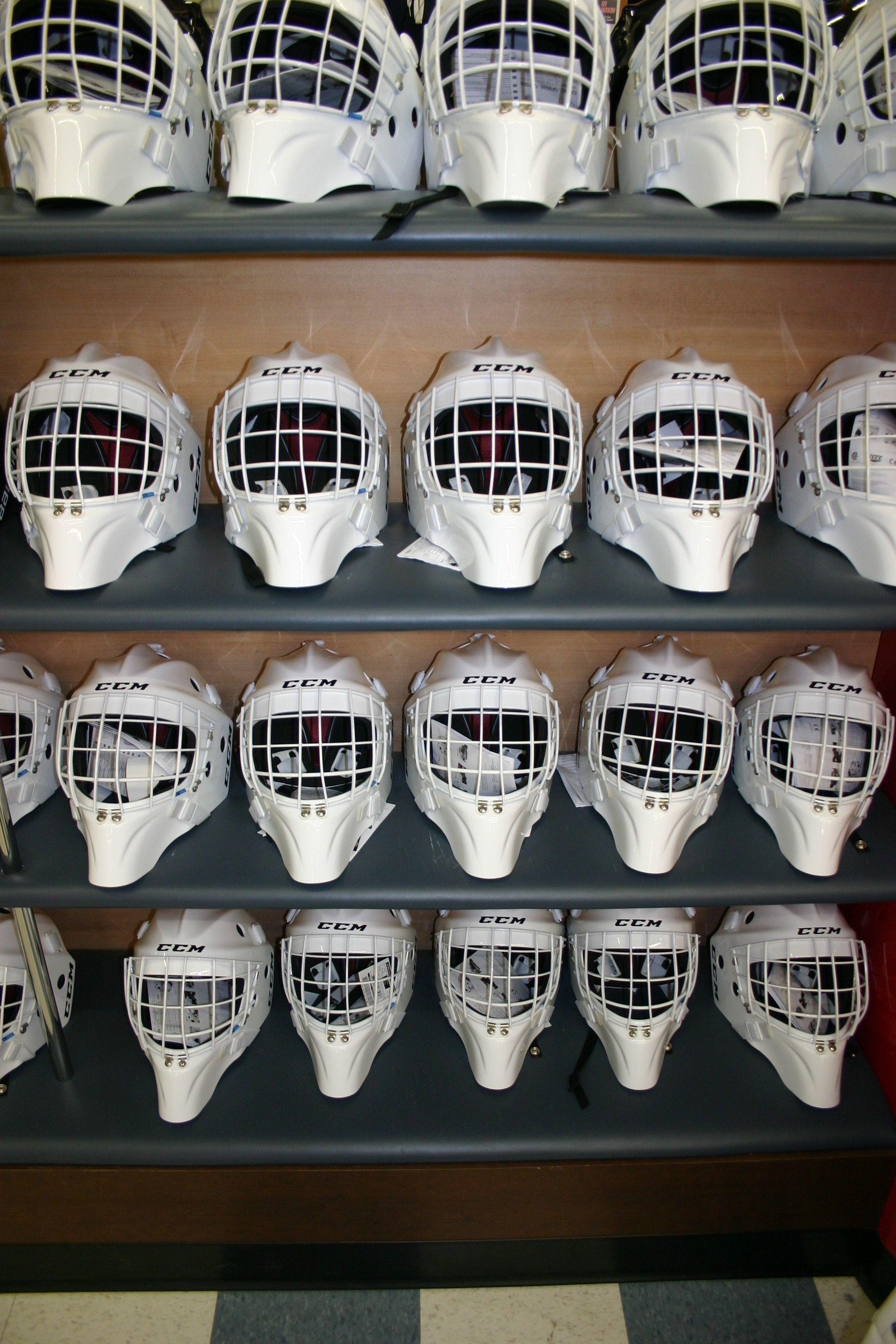 The New Ccm Goalie Masks Designed By Lefevre Are Now Available More Details At Http Www Prohockeylife Com Goalie Mask Football Helmets Goalie