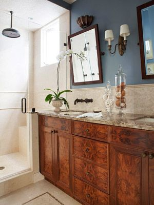 Blue Bathroom Design Ideas French Country Bathroom Blue Bathroom Blue Bathrooms Designs