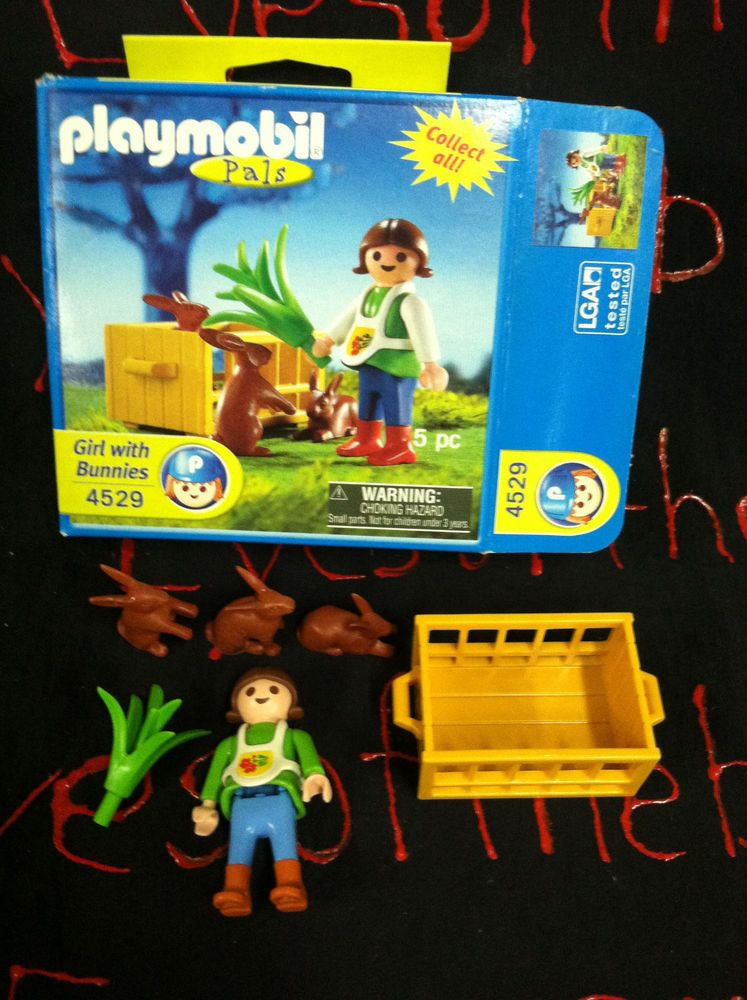 Playmobil Pals Special Figure Set 4529 Farm Girl with