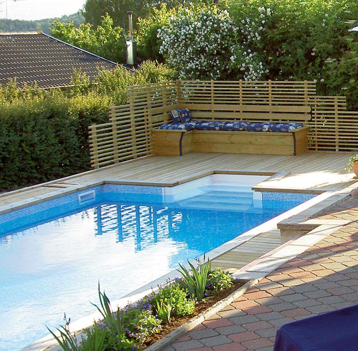 pool trädgård - Sök på Google Terassit Pinterest House