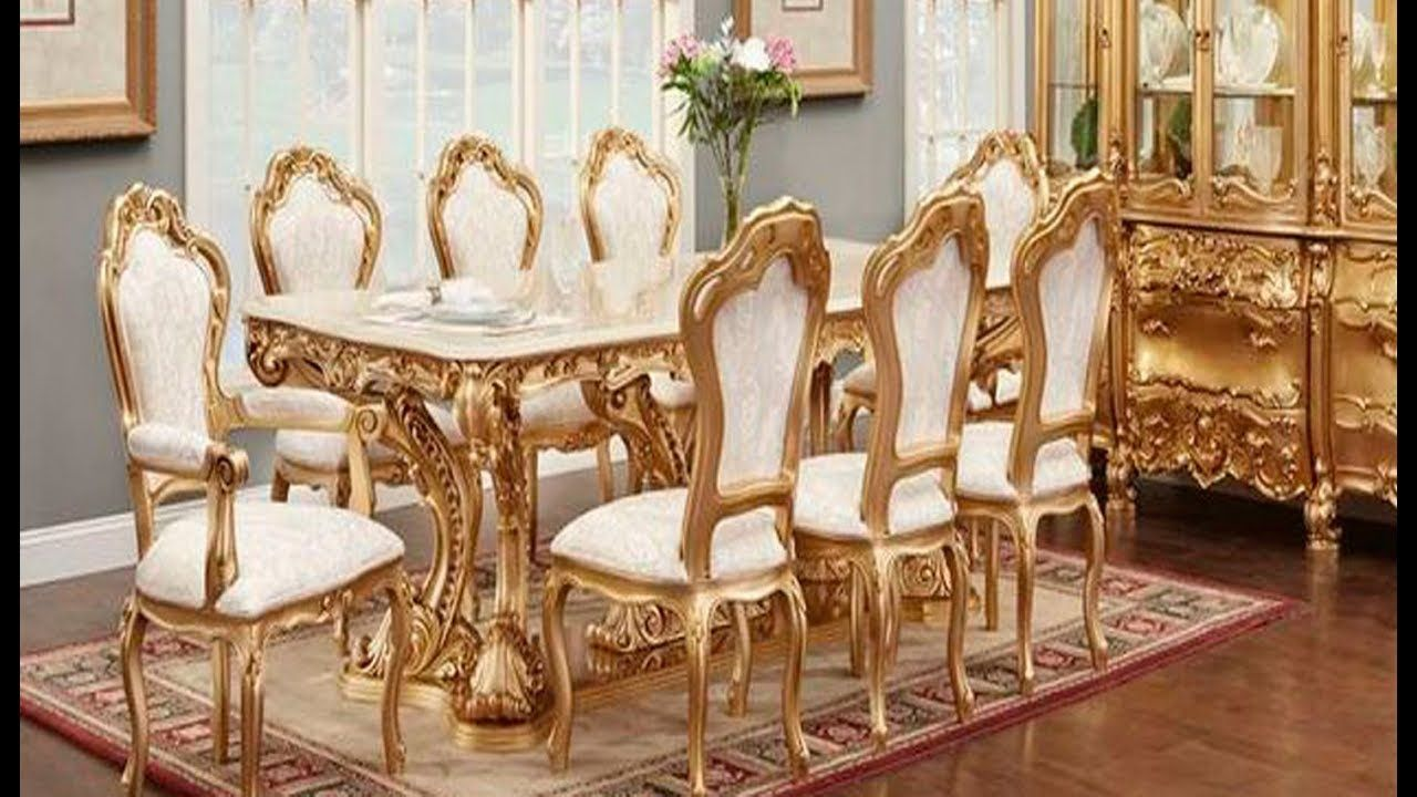 Italian Dining Table And Chairs Sets Royal Models All Latest Dining Table Collections Youtube Latest Dining Table Italian Dining Table Dining Table