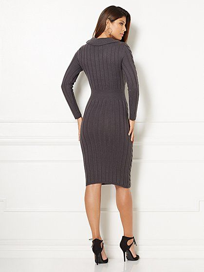 Eva Mendes Collection - Abi Sweater Dress  - New York & Company