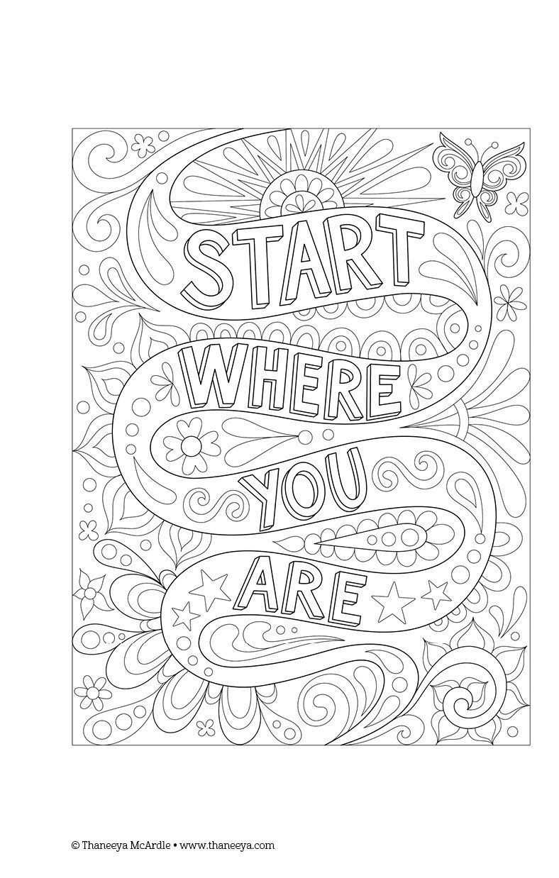 Free spirit coloring book by thaneeya mcardle coloring books by - Color Cool Coloring Book Perfectly Portable Pages On The Go Coloring