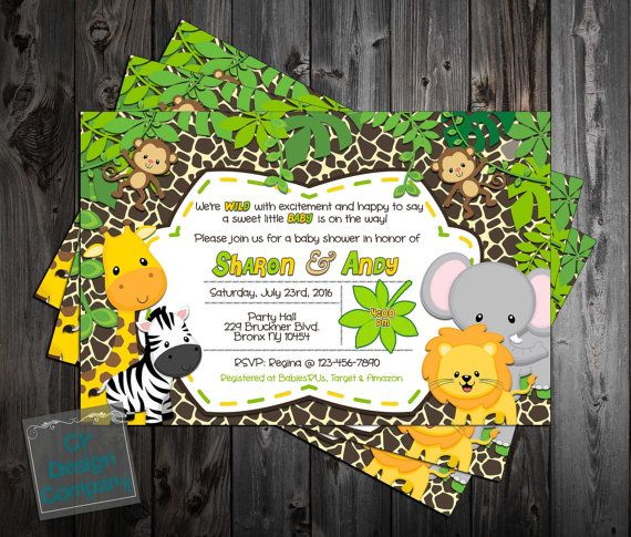 Hey, I found this really awesome Etsy listing at https://www.etsy.com/listing/281569034/baby-jungle-animals-wild-safari-baby