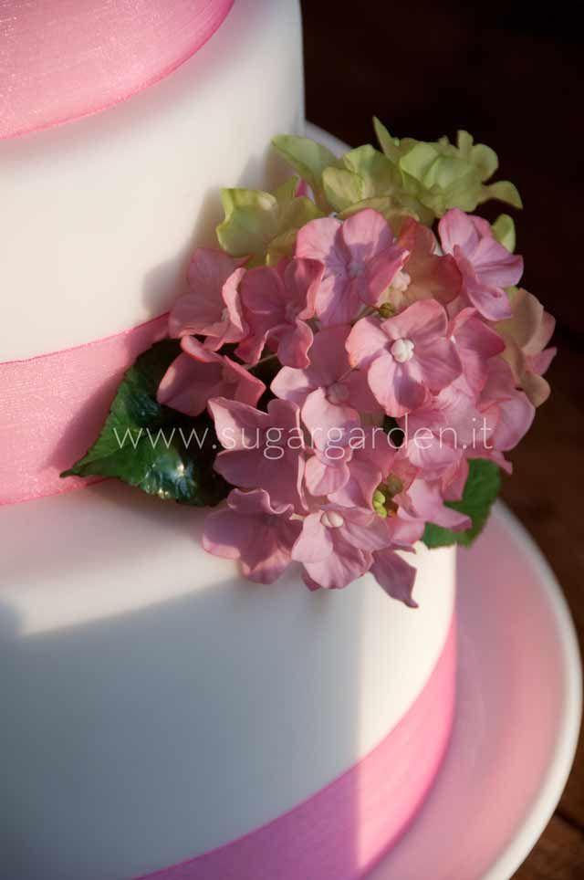 Cake Decorating Hydrangea Flowers : Hydrangea Cake - Detail Cakes Pinterest Flower ...