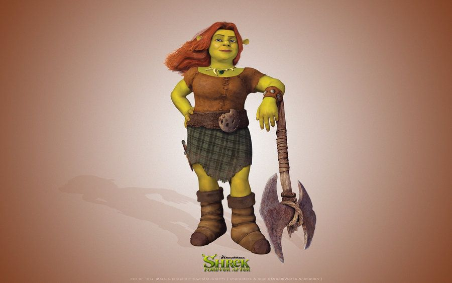 Pin On Fiona Shrek Forever After