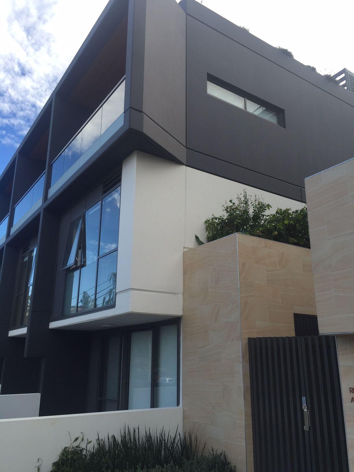 Apartment Building Color Schemes saw this apartment building in sydney. like the color scheme and