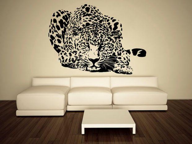Wall Decal Vinyl Sticker Decals Art Decor Design Leopard Panter