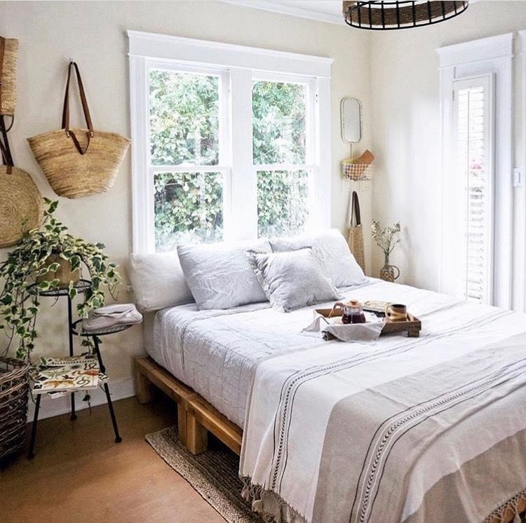 A more grown up style neutral cozy bedroom in 2019 | Small ...
