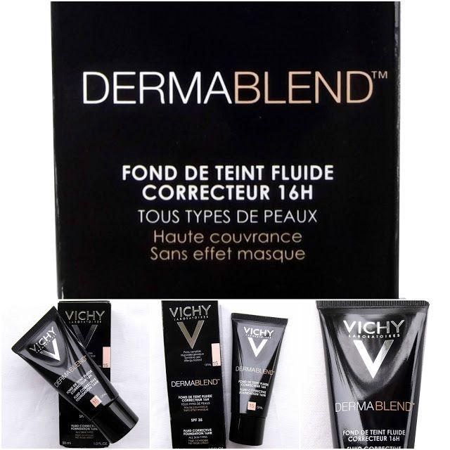 Vichy Dermablend Fond De Teint Review Photos Swatches Fond De Teint Fond De Teint Fluide Type De Peau