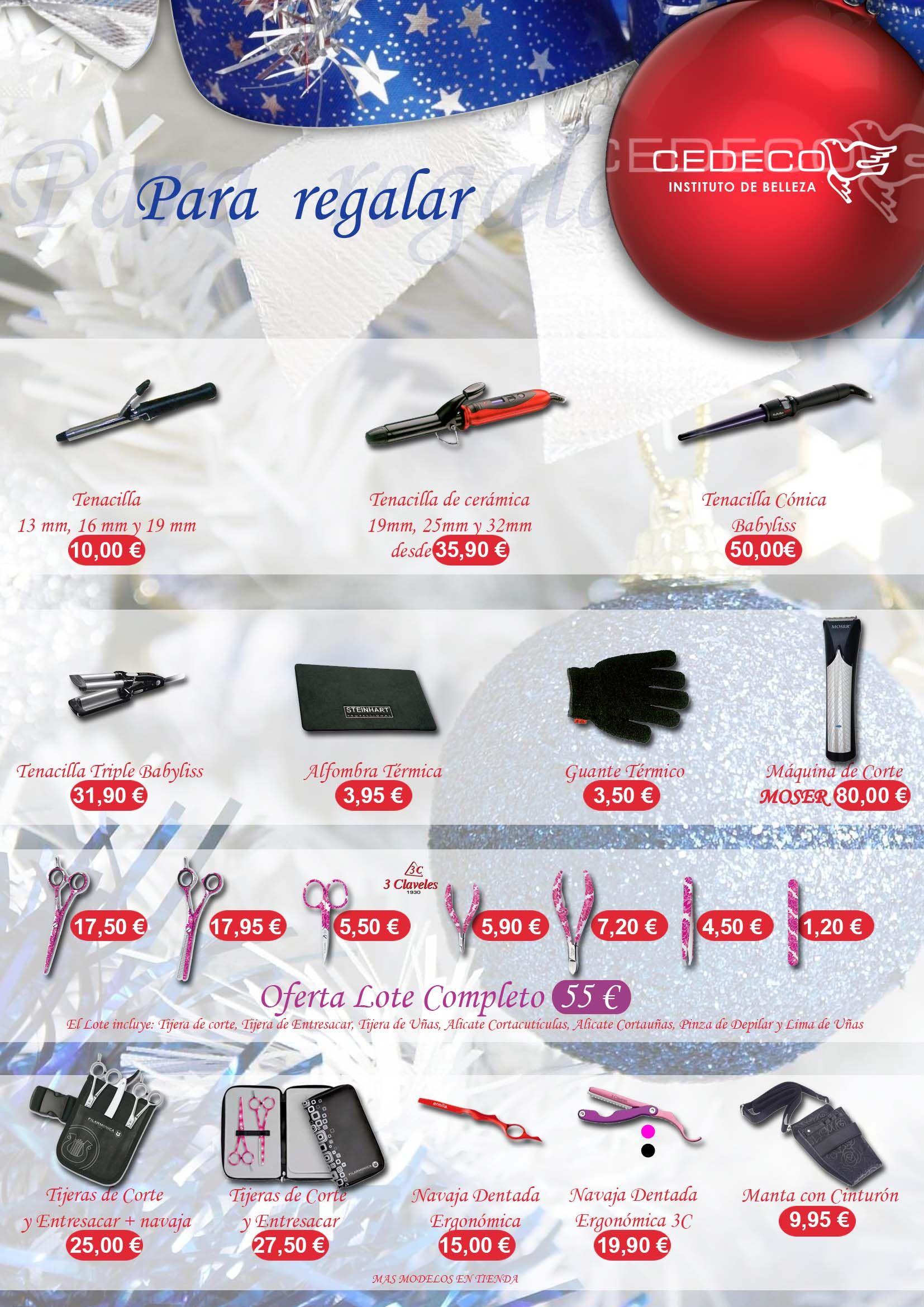 Catálogo página 4 (tenacillas y accesorios de manicura)