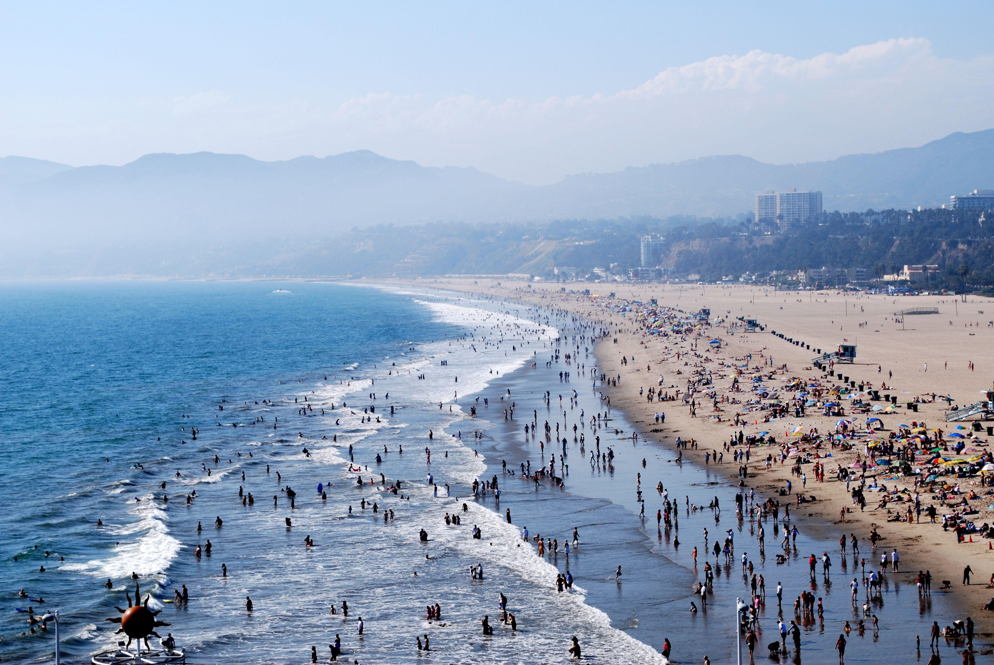 Santa Monica California Places In California Los Angeles Beaches California Travel