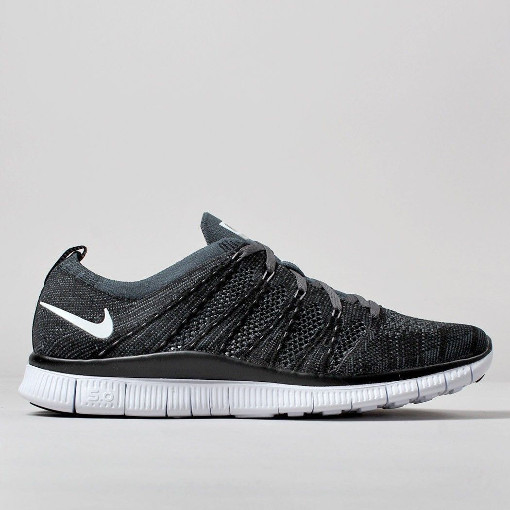 the latest 880b5 1875e ... coupon for nike free flyknit nsw shoes black white d1447 23de9