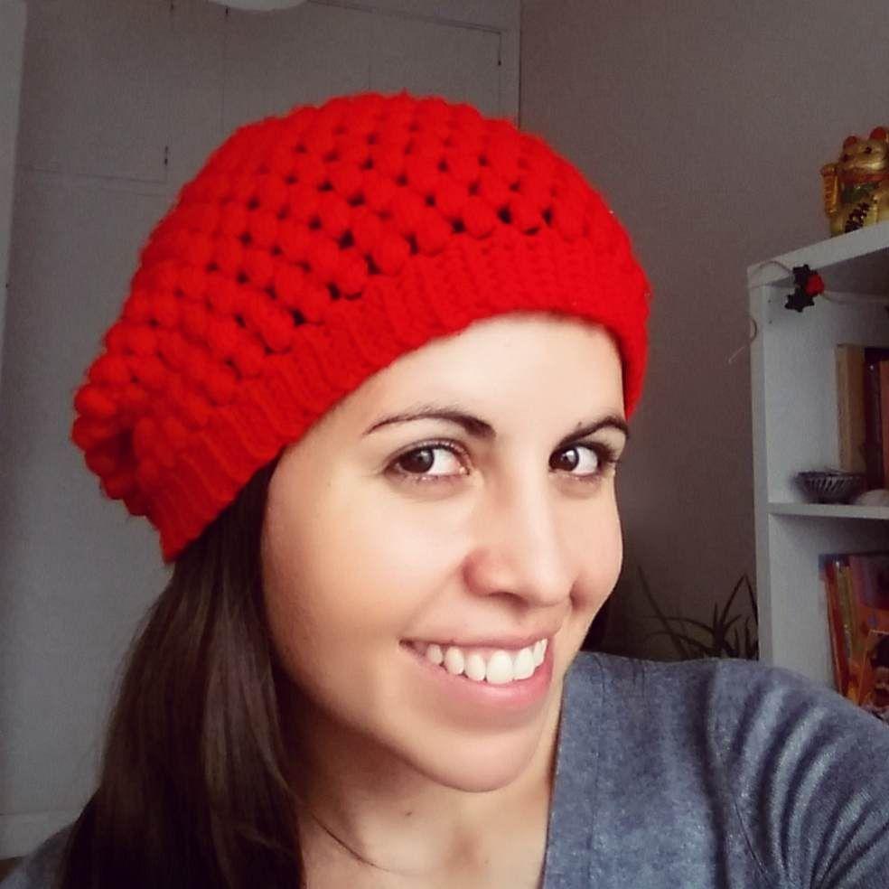 Ahuyama Crochet: Boina Caida (Slouchy Beanie) a Crochet - Paso a ...