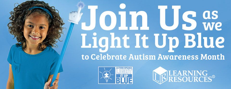 Learning Resources supports and celebrates Autism Awareness Month!