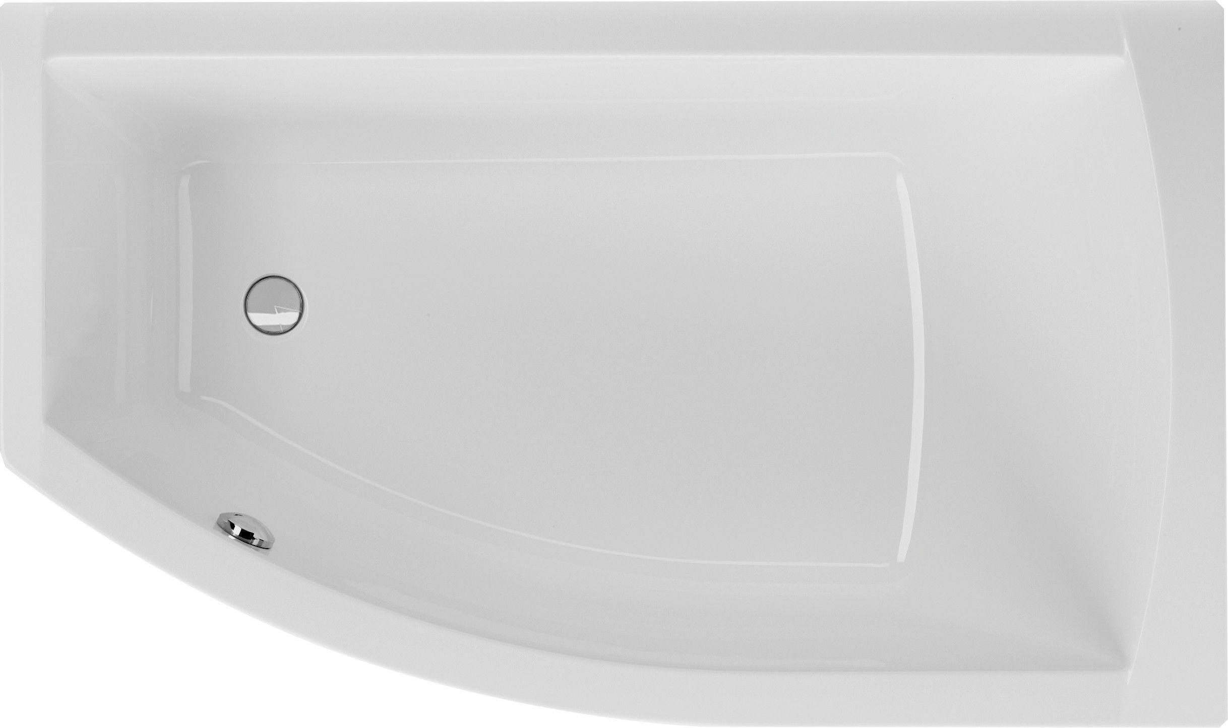 badewanne asymmetrisch 160 x 95 x 45 5 cm badewanne raumspar pinterest wanne badewanne. Black Bedroom Furniture Sets. Home Design Ideas