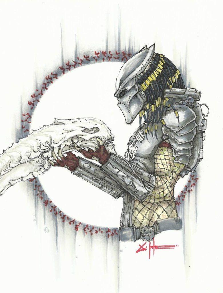 эскизы кино музыка 165 фотографий predator tattoo predator