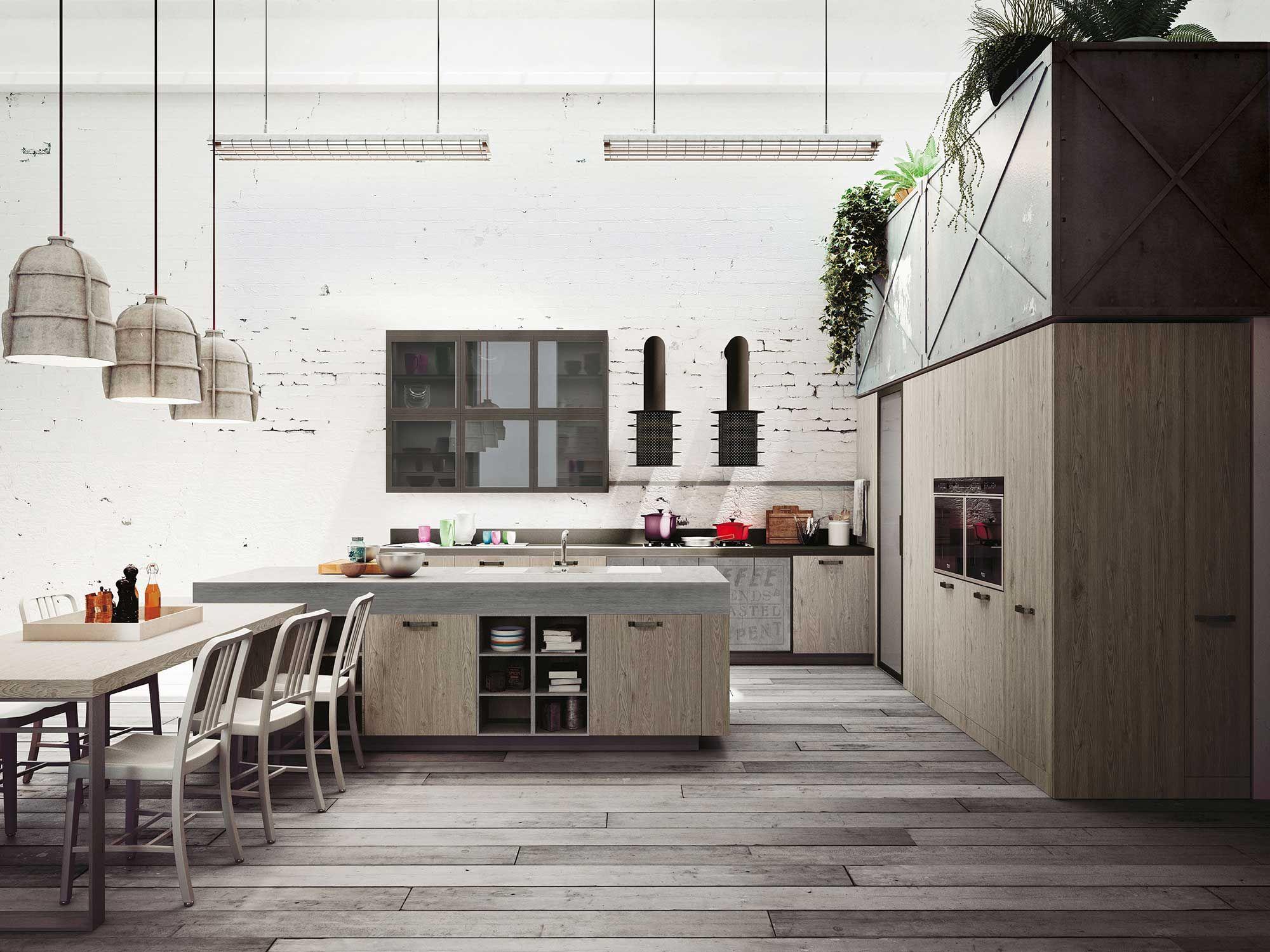 La cucina snaidero loft è espressione delle più recenti tendenze